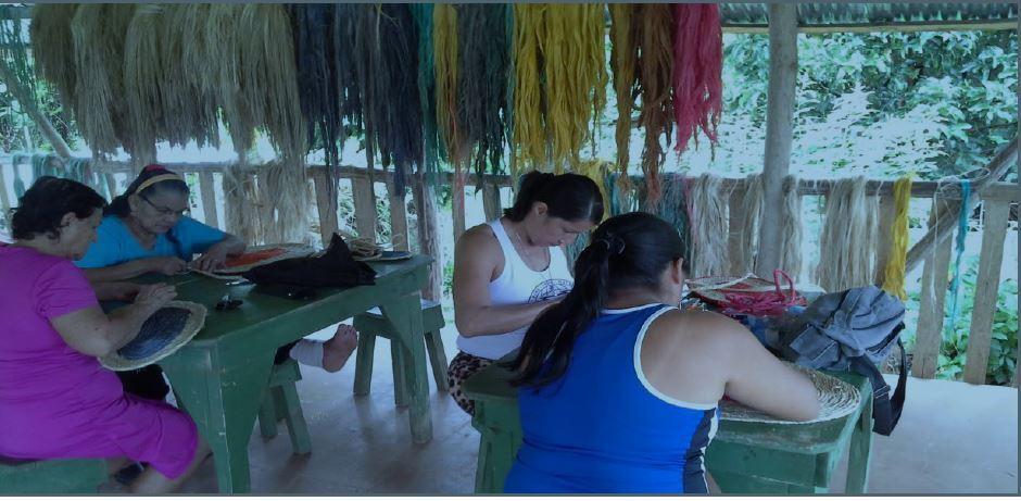 women doing their craft