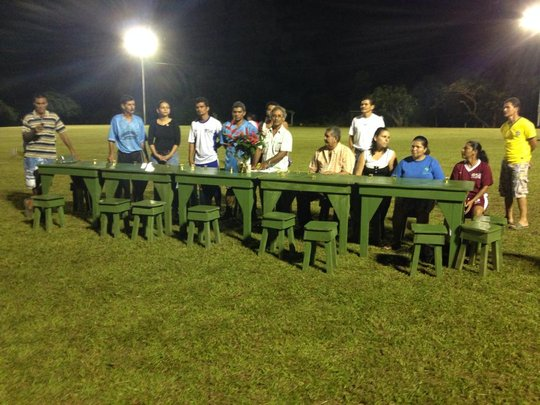 Soccer Field Inauguration