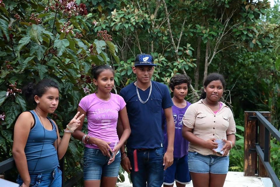 Children from el Progreso