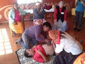 Volunteer/Traditional Midwife Training