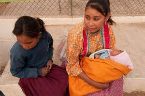 Young Tarahumara mothers