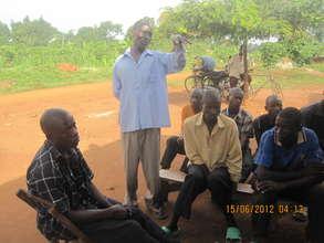 Community Meeting in Magogo