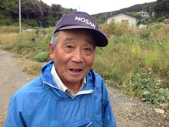 Shed recipient Masahiro