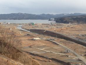 View of Minamisanriku, March 2013