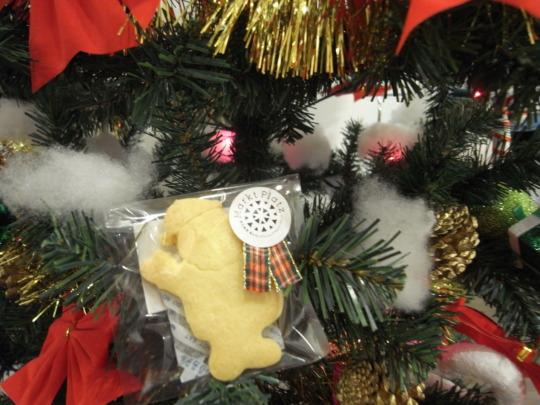 Homemade cookies on the tree