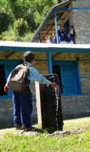 Water supply at Tingla
