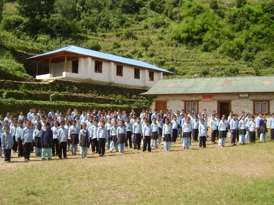 Students at Our Campus in Basa