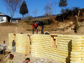 Progress on the University Hostel