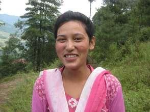 Juna Maya Tamang - A Student at Our Girls Hostel