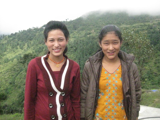 Students at the Solukhumbu Girls Hostel