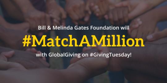 Global Giving and #matchamillion