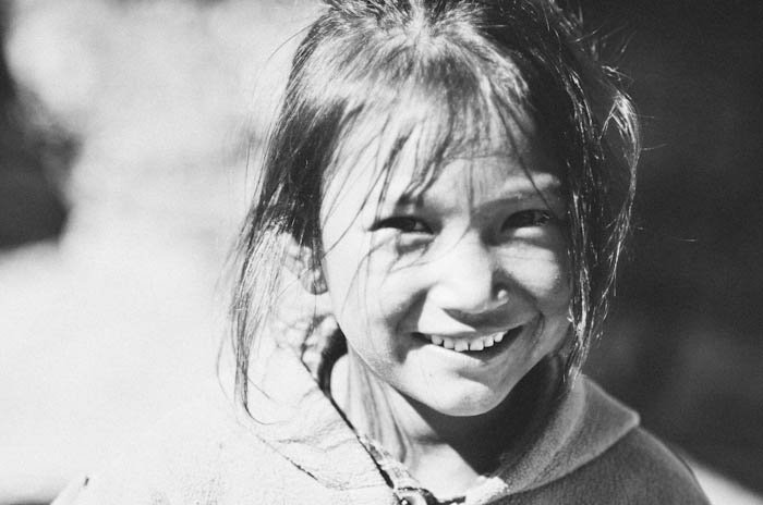 Girl in Nepal