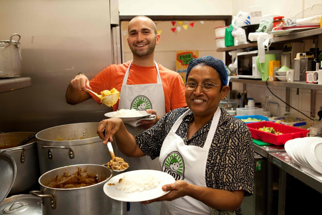 Empower communities to reduce UK food poverty