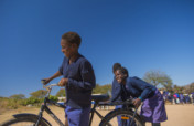 Distribute 100 Bicycles to Girls for Education