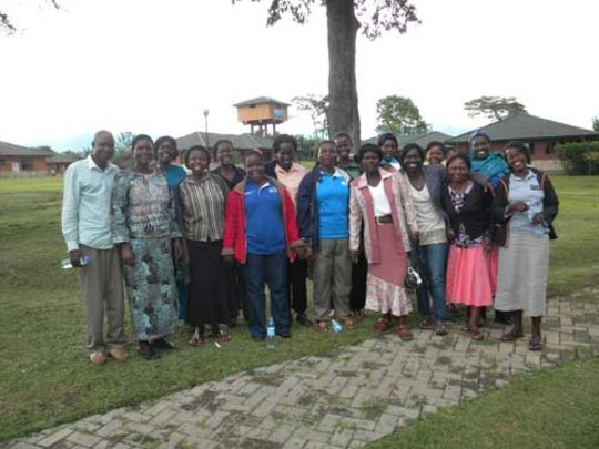 SOS-mothers from Gulu and Fort Portal