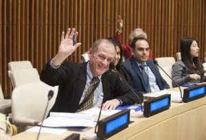 Dr. Hedberg at ECOSOC