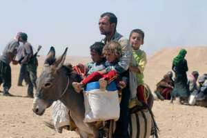 Fleeing Iraq