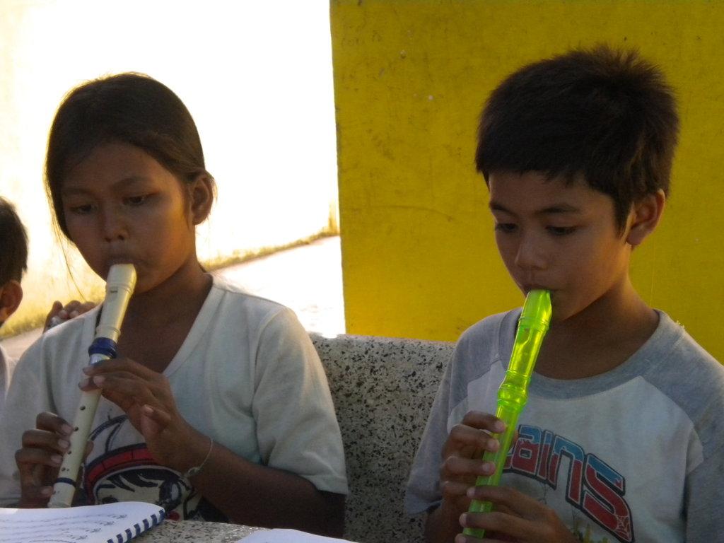 SC Children Learning Recorder!