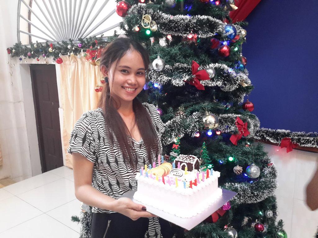 Chenda attended Christmas Celebration of Sunshine