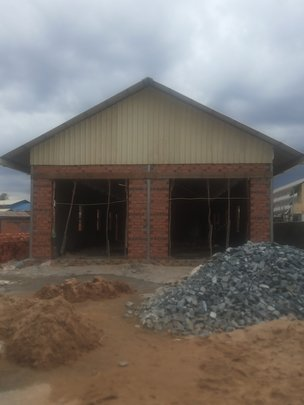 Our new building in Prey Tea is under construction