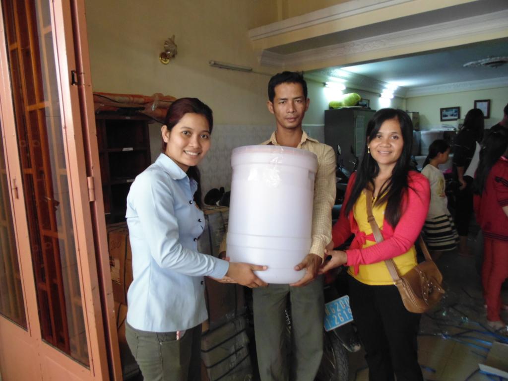 Parents got Water Filters