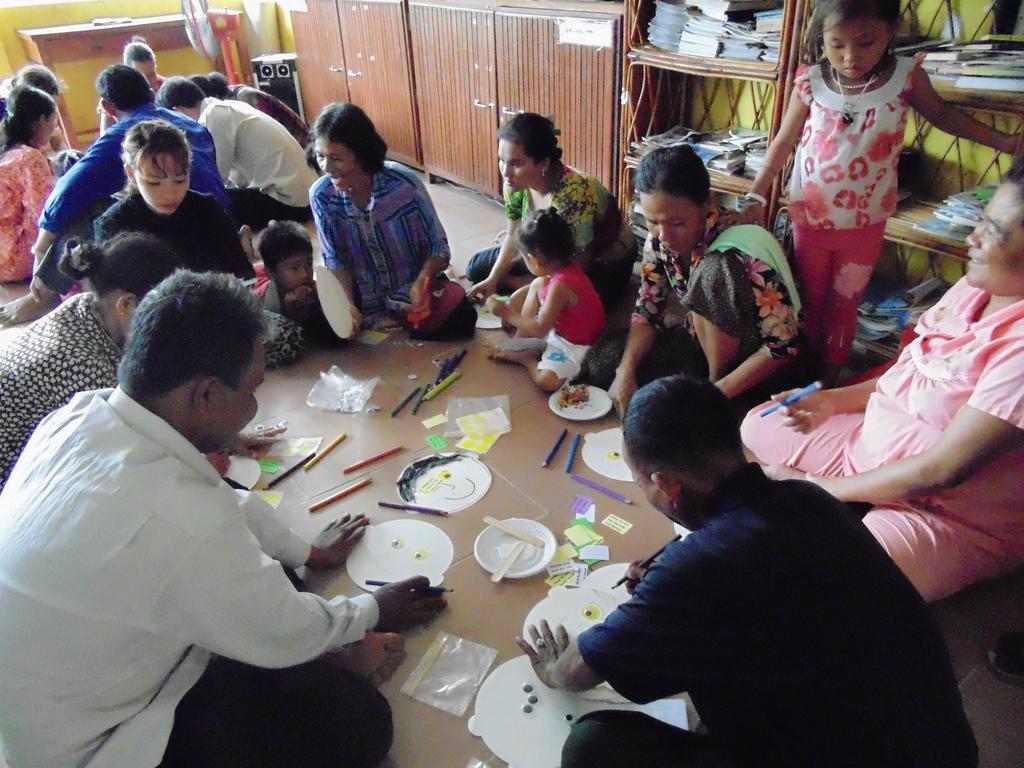 Our parents enjoy learning together