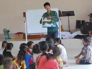 Children attend Children Clubs in their Community
