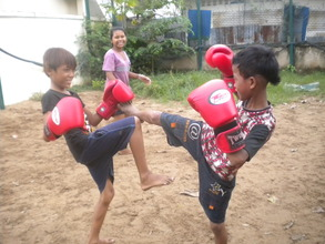 Khmer Kick Boxing @ Children Clubs