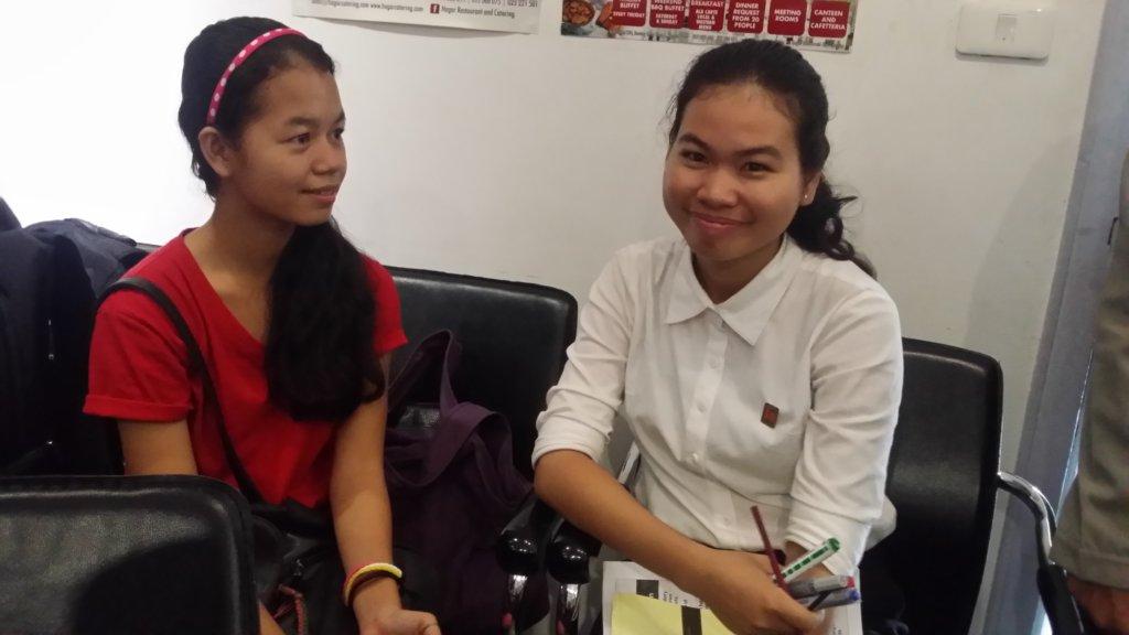 Kunthea attended a Child Participation Workshop