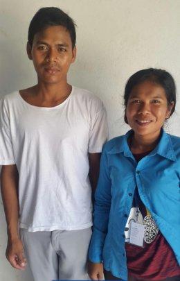 Sreymom and Her Husband