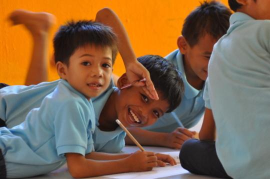 Children attend children clubs