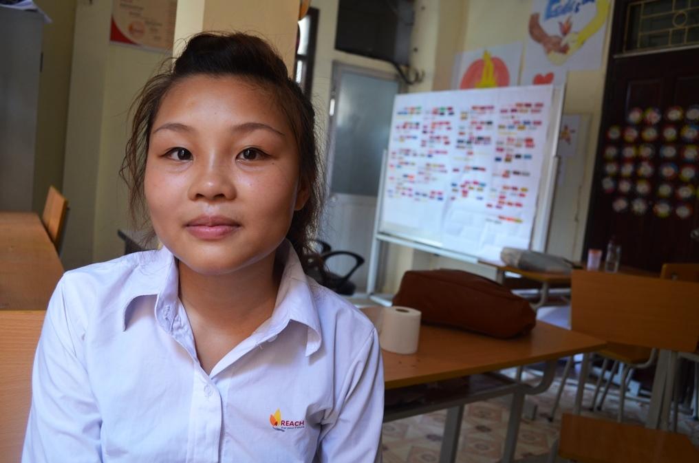 Huyen, Nail Art student in Hanoi, batch 26