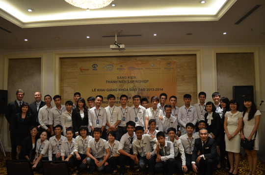 Opening ceremony of the Youth Career Initiative
