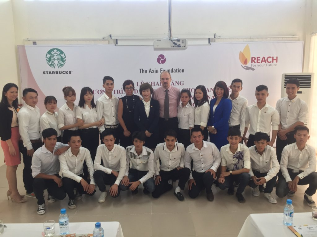 Our F&B students at our partnership ceremony