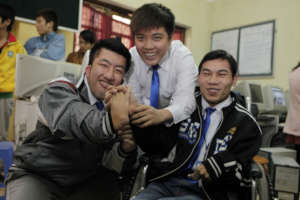 Give disadvantaged Vietnamese youth secure jobs