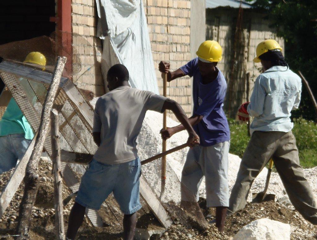 Building Jobs in Haiti with Building Blocks