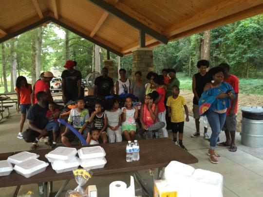 Kids helping kids in need