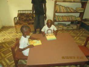 Reading Room provided by Smile Liberia