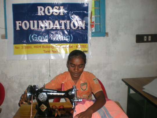a widow beneficiary
