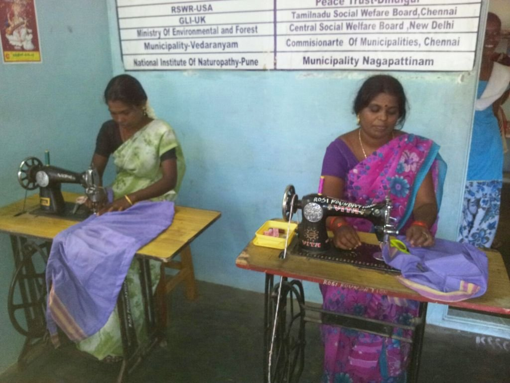 Beneficiaries under training