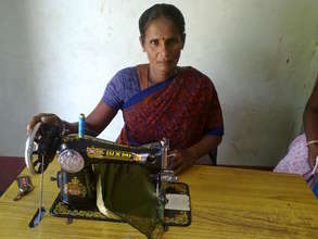 Ms.Selvalakshmi is a widow beneficiary