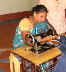 A widow woman in IGP