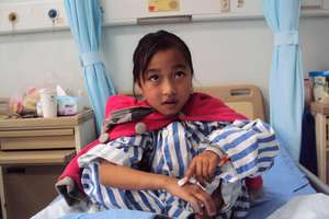 One of the 25 children you helped save