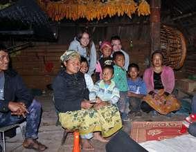 Ai Xiang Er's family in Xishuangbanna Prefecture