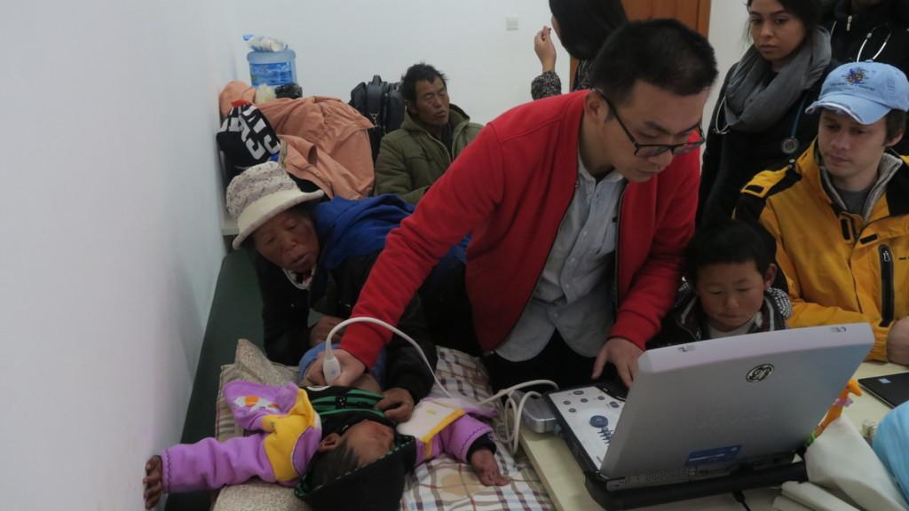 Screening children in the clinic