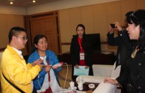 Masimo China Director introduces Rad 5 oximeters