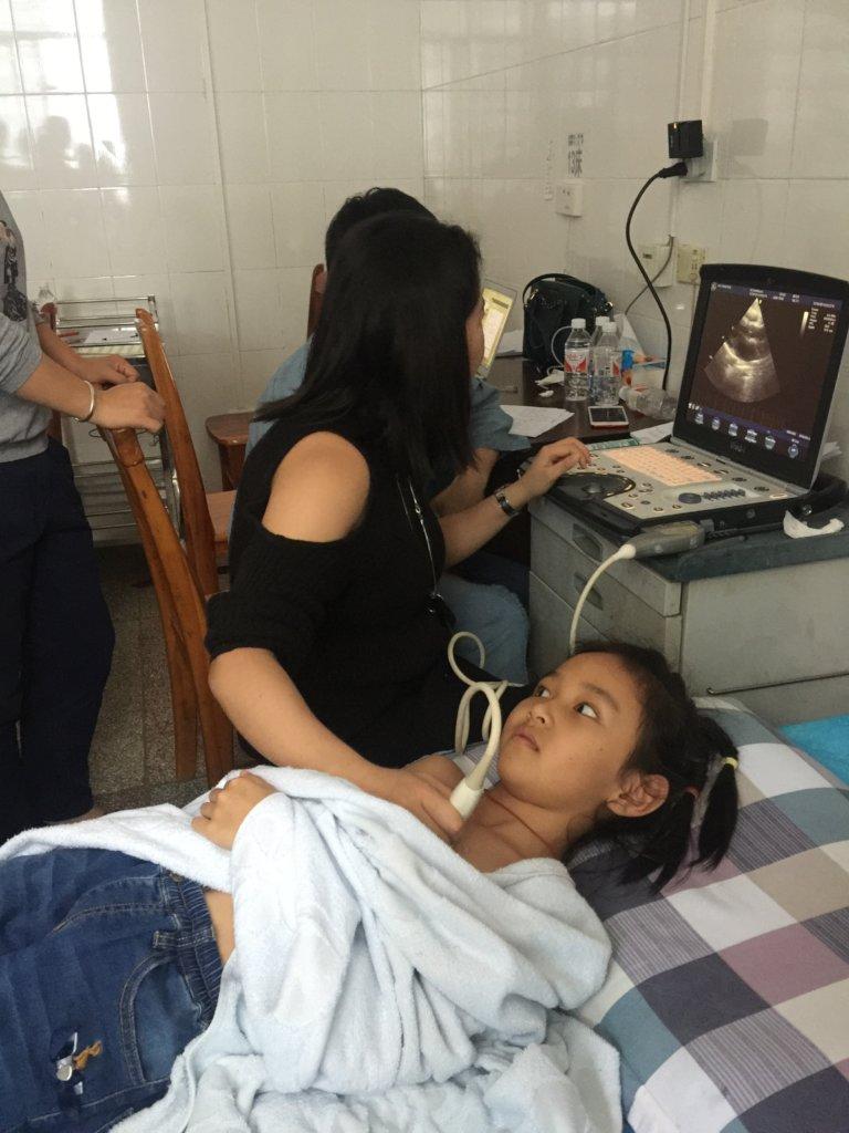Fu Wai Hospital Doctor Examines Child