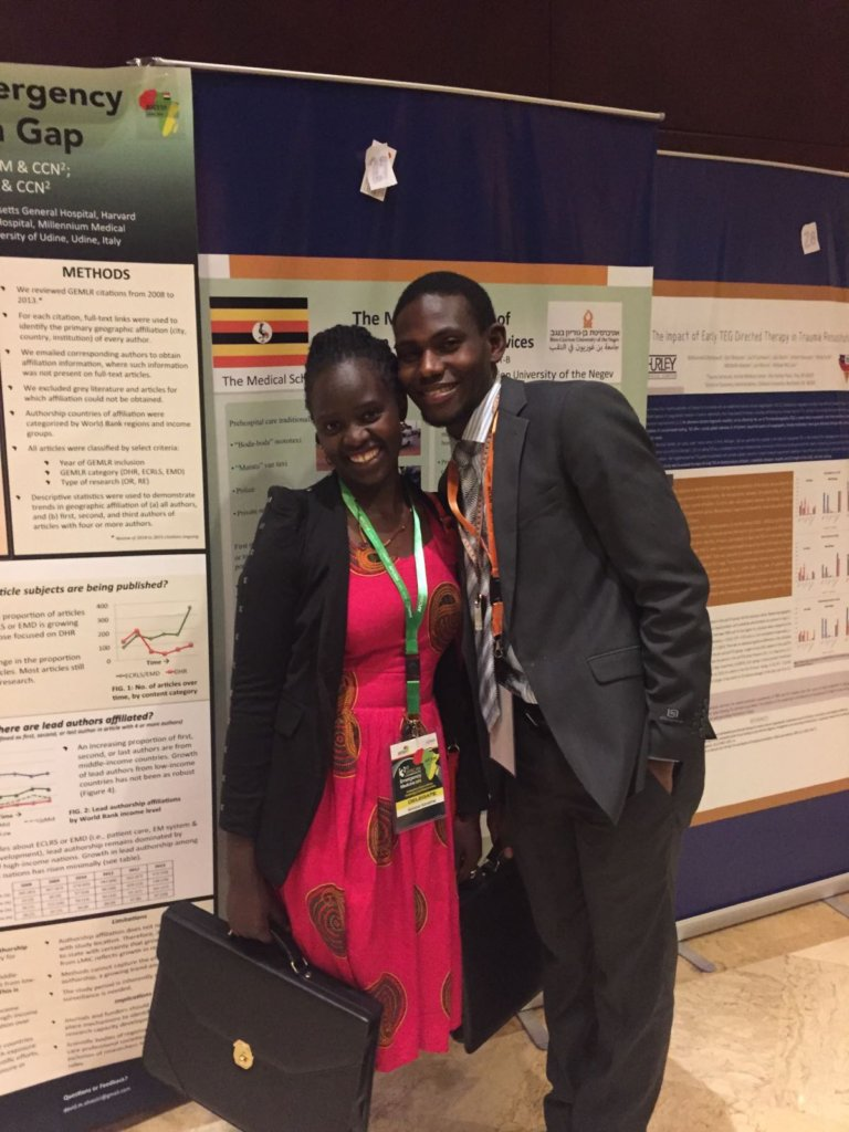 ECPs, Glorious & Hilary, at AfCEM 2016 in Cairo