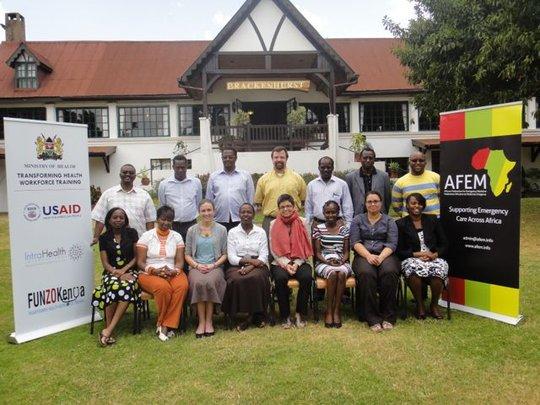 Kenya Medical Training College Curriculum Meeting