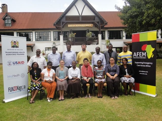 Kenya Medical Training College Curriculum Meeting